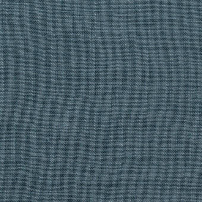 リネン×無地(ウインターブルー)×薄キャンバス_全25色 イメージ1