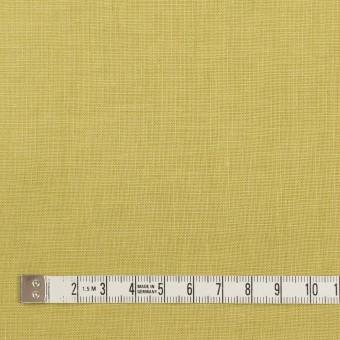 リネン×無地(スモーキーライム)×薄キャンバス_全25色 サムネイル4