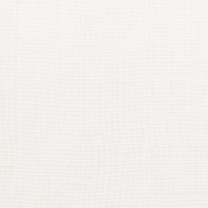 リネン×無地(オフホワイト)×薄キャンバス_全25色 イメージ1
