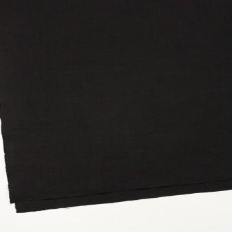 リネン×無地(ブラック)×薄キャンバス_全25色 サムネイル2