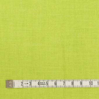 リネン×無地(ライムグリーン)×薄キャンバス_全25色 サムネイル4