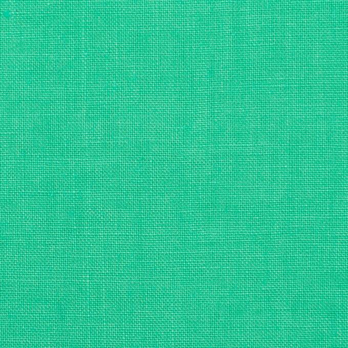 リネン×無地(ミントグリーン)×薄キャンバス_全25色 イメージ1
