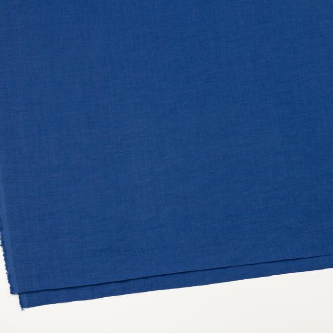リネン×無地(ロイヤルブルー)×薄キャンバス_全25色 イメージ2