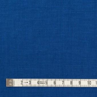 リネン×無地(ロイヤルブルー)×薄キャンバス_全25色 サムネイル4