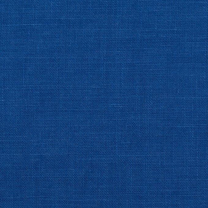 リネン×無地(ロイヤルブルー)×薄キャンバス_全25色 イメージ1