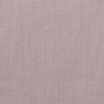 リネン×無地(グレイッシュピンク)×サージ_全22色