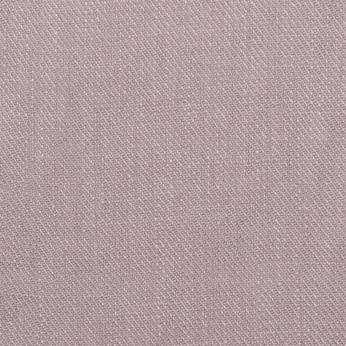 リネン×無地(グレイッシュピンク)×サージ_全22色 イメージ1
