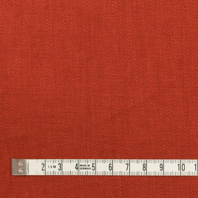 リネン×無地(ケチャップ)×サージ_全22色 イメージ4