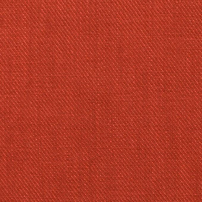 リネン×無地(ケチャップ)×サージ_全22色 イメージ1