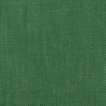 リネン×無地(パラダイスグリーン)×サージ_全22色