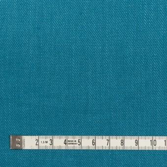 リネン×無地(ターコイズブルー)×サージ_全22色 サムネイル4