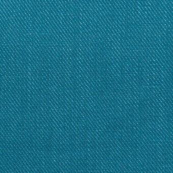 リネン×無地(ターコイズブルー)×サージ_全22色