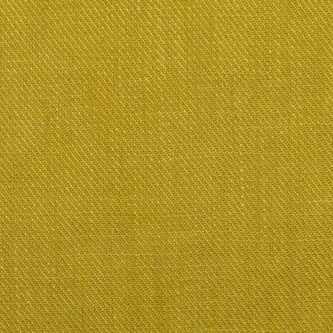 リネン×無地(アンティークゴールド)×サージ_全22色 イメージ1