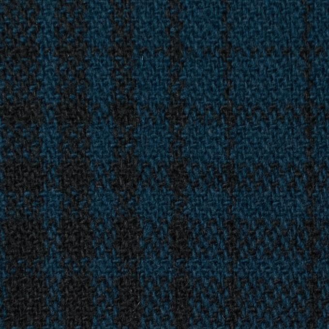ウール×チェック(ネイビー)×ツイード_全3色 イメージ1
