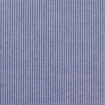 コットン×ストライプ(ブルーグレー)×ブロード サムネイル1