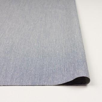 シルク&コットン×ストライプ(ブルー)×コードレーン サムネイル3