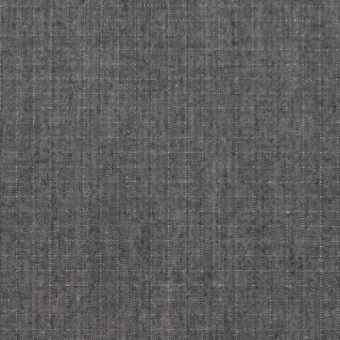 コットン×無地(チャコールグレー)×リップストップ イメージ1