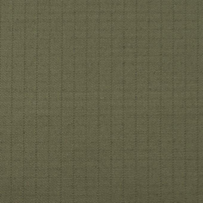 コットン×無地(カーキグリーン)×リップストップ_全3色 イメージ1