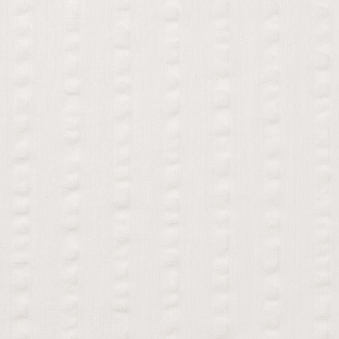 コットン&レーヨン×無地(オフホワイト)×サッカー イメージ1