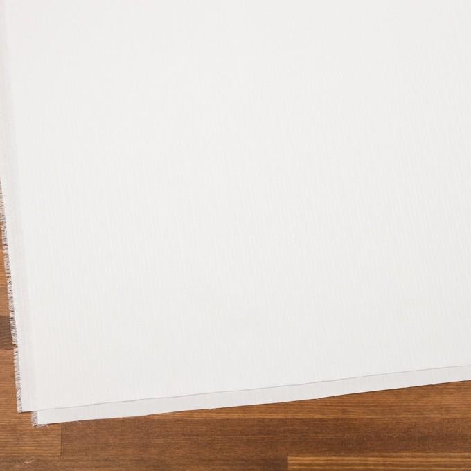 コットン&レーヨン×ストライプ(オフホワイト)×ブロードジャガード イメージ2