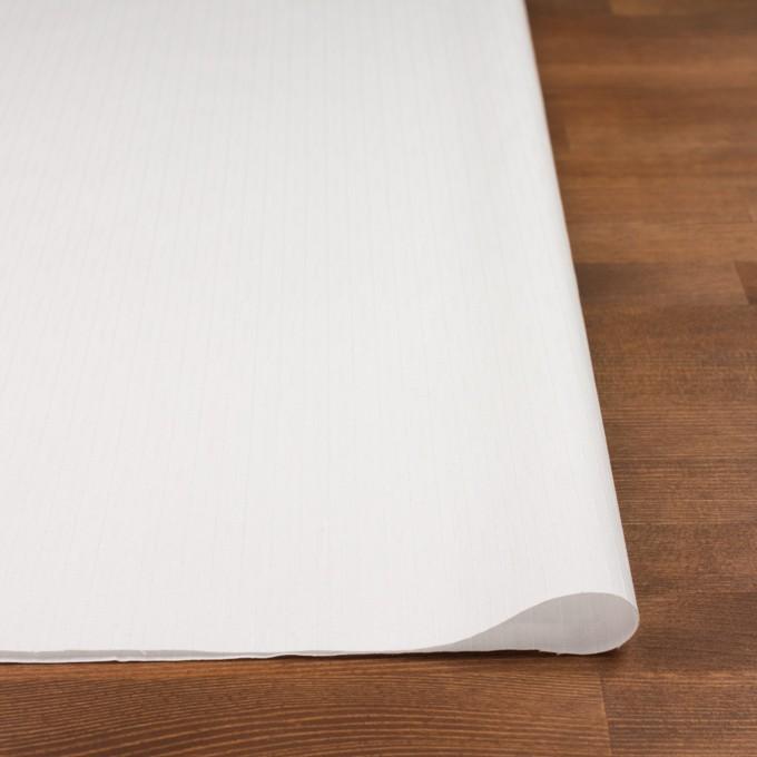 コットン&レーヨン×ストライプ(オフホワイト)×ブロードジャガード イメージ3