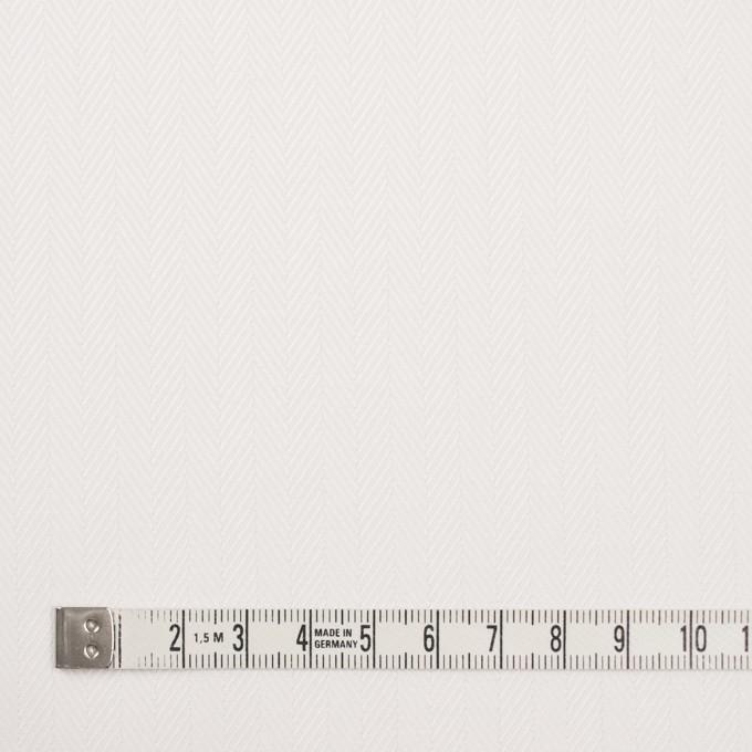 コットン×無地(オフホワイト)×ヘリンボーン イメージ4
