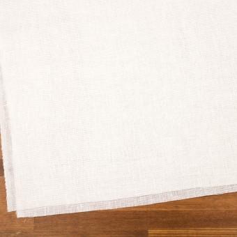 リネン&バンブー混×無地(オフホワイト)×シャンブレーガーゼ_全3色 サムネイル2