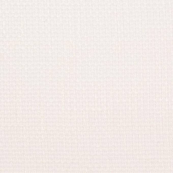 リネン&バンブー混×無地(オフホワイト)×シャンブレーガーゼ_全3色 イメージ1