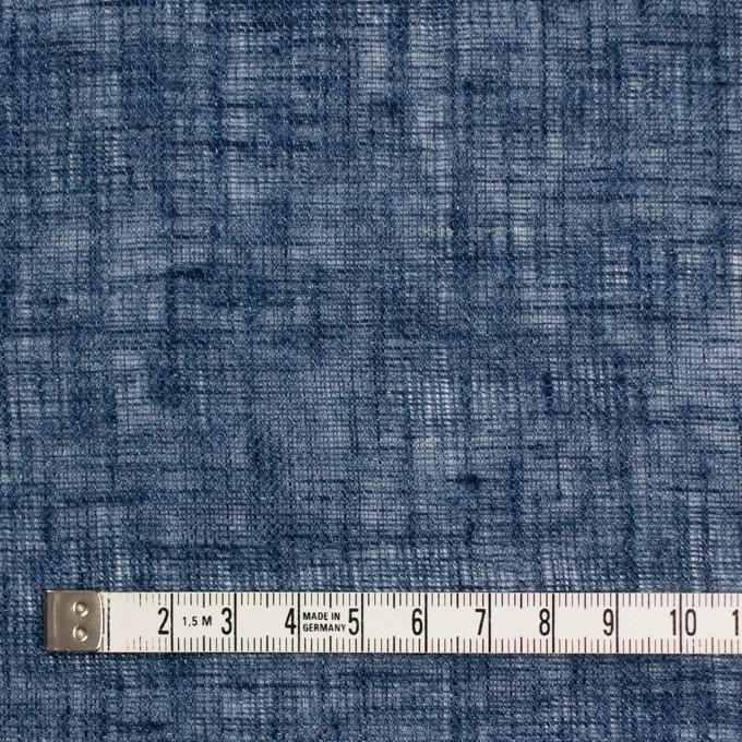 リネン×無地(インディゴブルー)×ガーゼ イメージ4