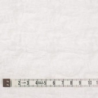 コットン&ナイロン混×無地(オフホワイト)×シャーリングメッシュニット_全4色 サムネイル4