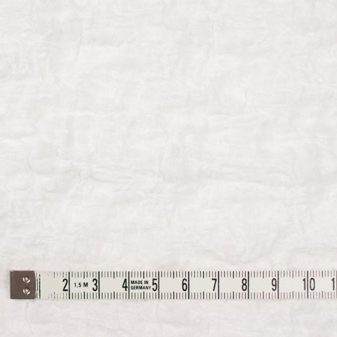 コットン&ナイロン混×無地(オフホワイト)×シャーリングメッシュニット_全4色 イメージ4