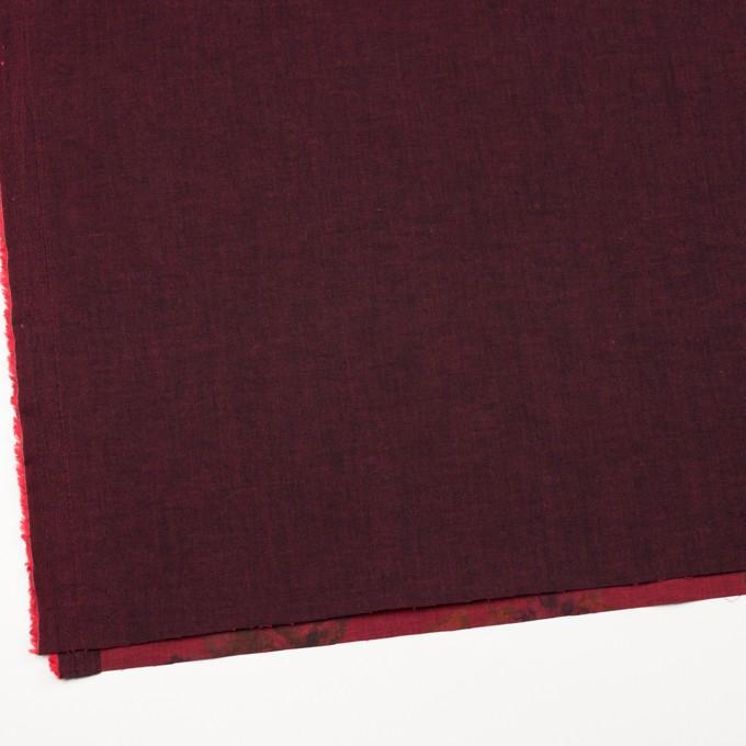 コットン&ポリエステル混×無地&フラワー(アップル)×デニムストレッチ_バックプリント_全4色 イメージ2