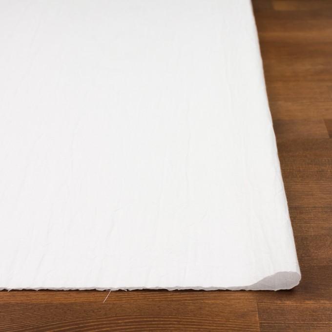 コットン×無地(ホワイト)×キャンブリックワッシャー_全15色 イメージ3