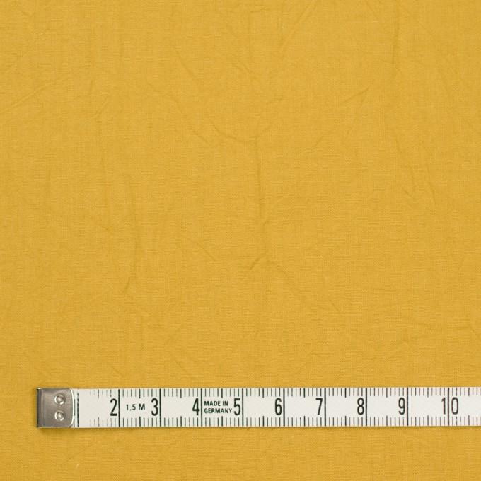 コットン×無地(マスタード)×キャンブリックワッシャー_全15色 イメージ4