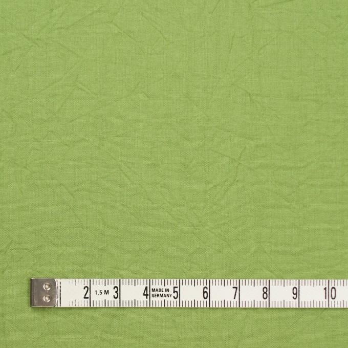 コットン×無地(ライム)×キャンブリックワッシャー_全15色 イメージ4