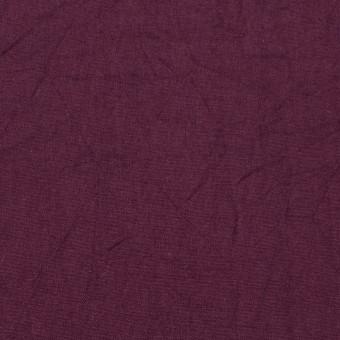コットン×無地(プラムパープル)×キャンブリックワッシャー_全15色 サムネイル1