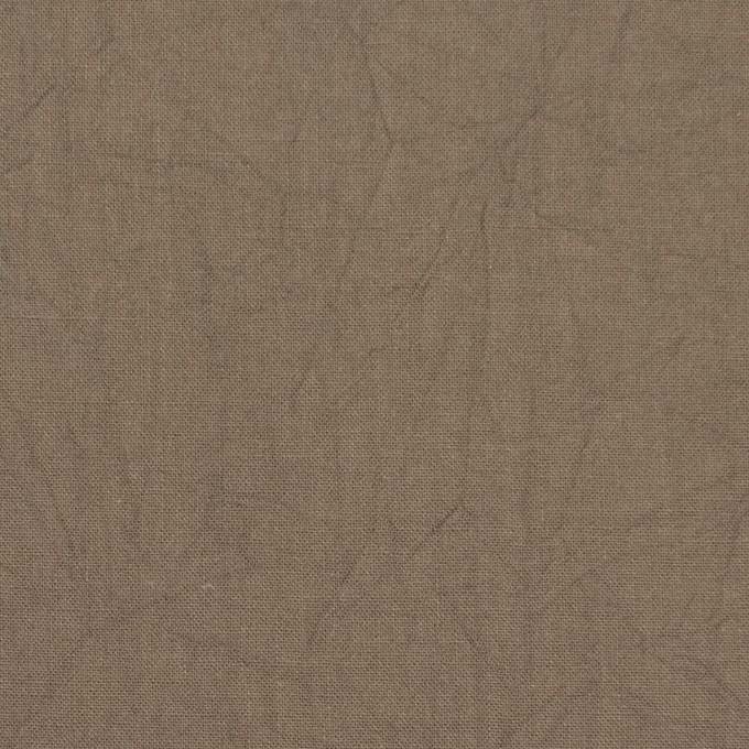 コットン×無地(カーキベージュ)×キャンブリックワッシャー_全15色 イメージ1