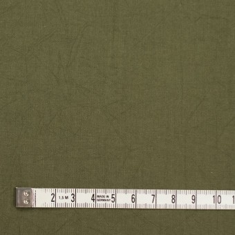 コットン×無地(カーキグリーン)×キャンブリックワッシャー_全15色 サムネイル4