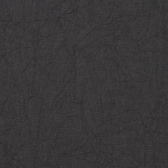 コットン×無地(チャコールグレー)×キャンブリックワッシャー_全15色 サムネイル1