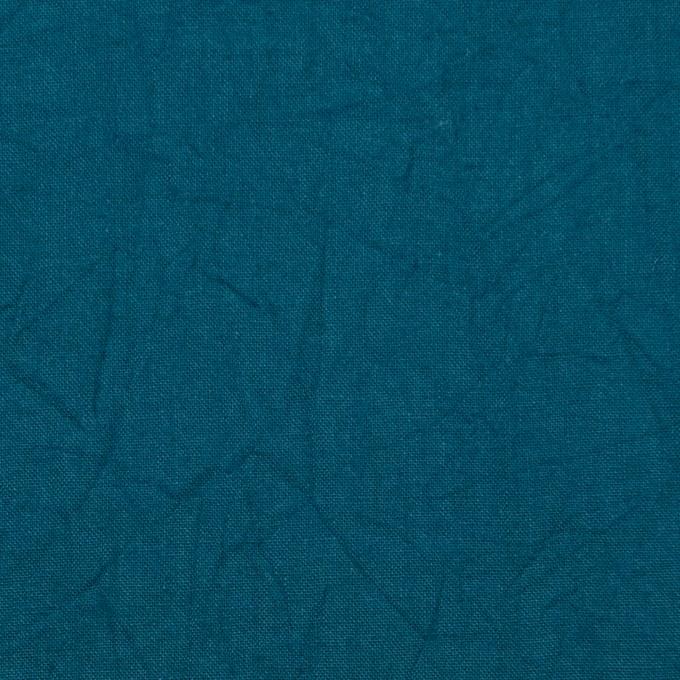 コットン×無地(アカプルコブルー)×キャンブリックワッシャー_全15色 イメージ1