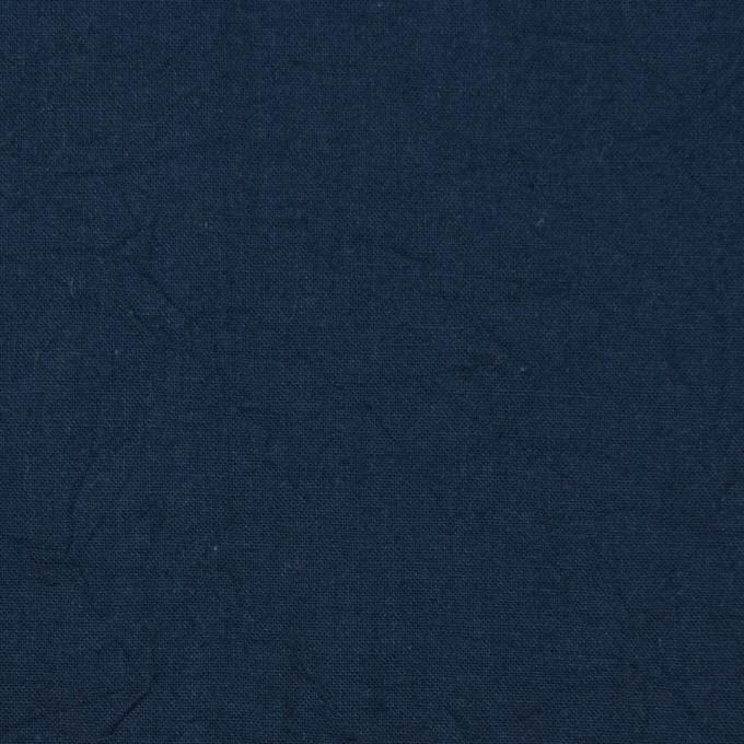 コットン×無地(ネイビー)×キャンブリックワッシャー_全15色 イメージ1