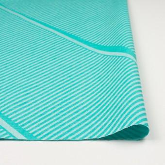 コットン×幾何学模様(エメラルドグリーン)×ジャガード_全2色 サムネイル3
