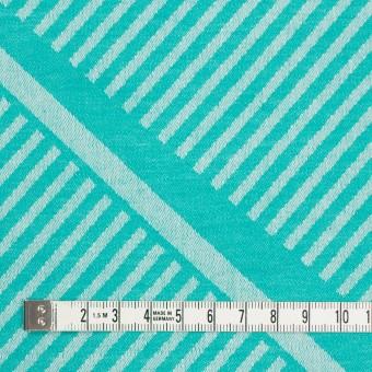 コットン×幾何学模様(エメラルドグリーン)×ジャガード_全2色 サムネイル4
