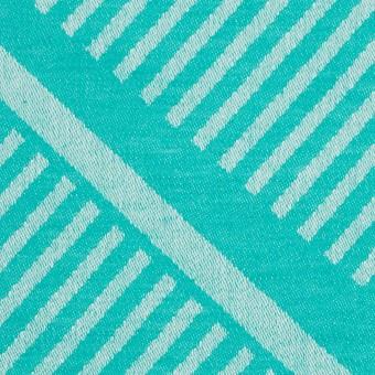 コットン×幾何学模様(エメラルドグリーン)×ジャガード_全2色 サムネイル1