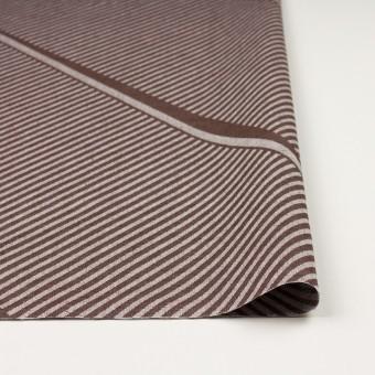 コットン×幾何学模様(ブラウン)×ジャガード_全2色 サムネイル3