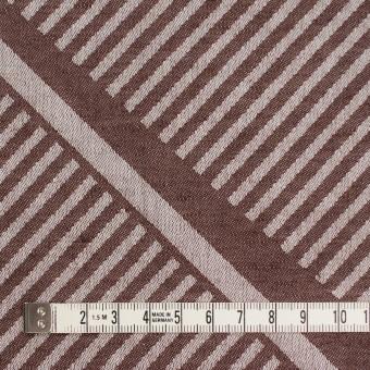 コットン×幾何学模様(ブラウン)×ジャガード_全2色 サムネイル4