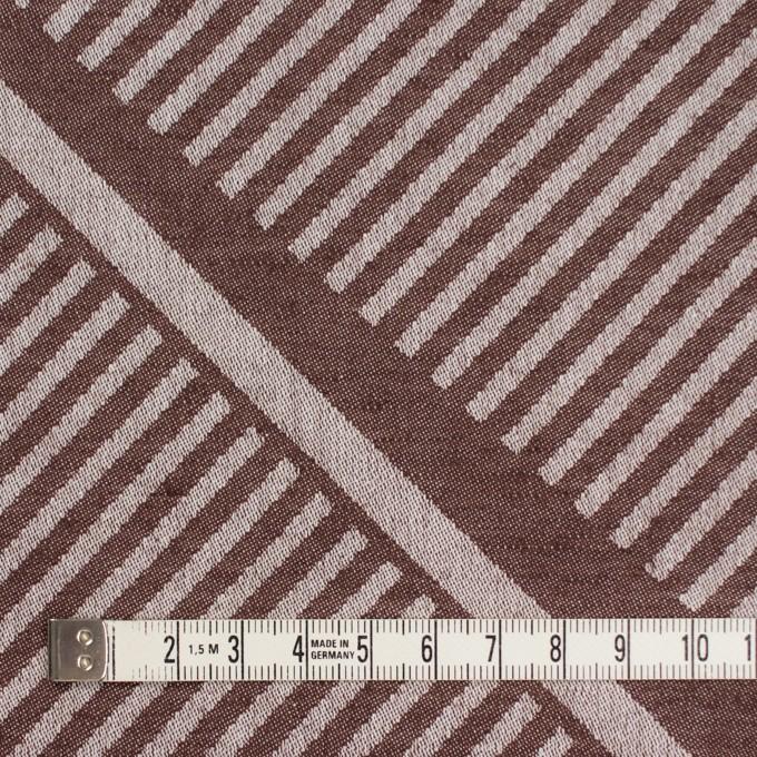 コットン×幾何学模様(ブラウン)×ジャガード_全2色 イメージ4