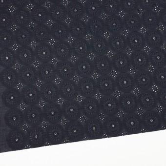 コットン×フラワー(ダークネイビー)×ローン刺繍_全6色 サムネイル2