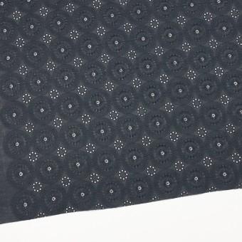 コットン×フラワー(チャコール)×ローン刺繍_全4色 サムネイル2