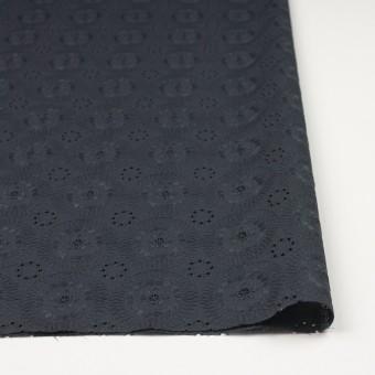 コットン×フラワー(チャコール)×ローン刺繍_全4色 サムネイル3